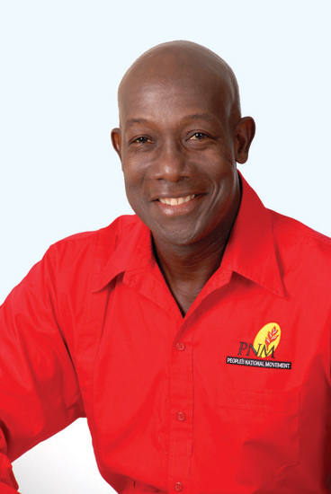 Keith Rowley, T&T President-elect, leader of PNM