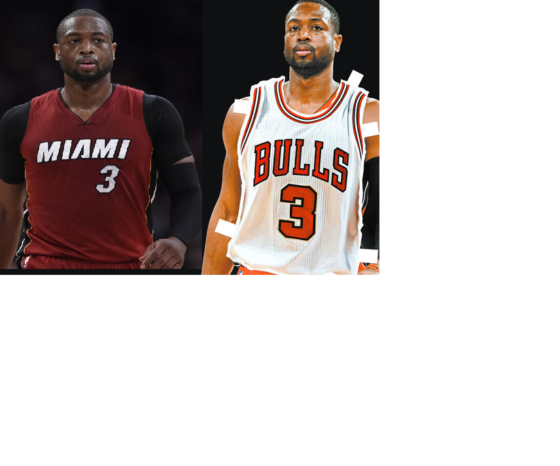 Dwyane Wade leavs Miami for Chicago